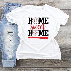 Home Sweet Home Base Ball T shirt
